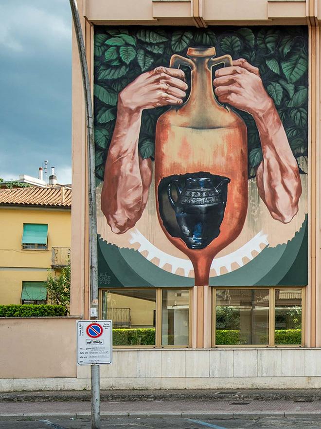 Ale Senso - L'uno nell'altro, TraMe - Tracce di Memoria, Rieti. Photo credit: Marco Bellucci