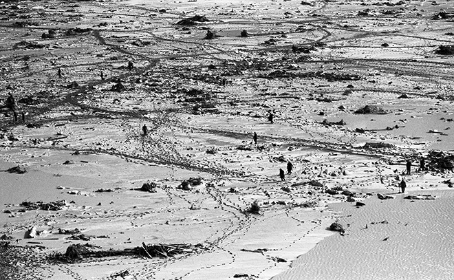 ©Giorgio Lotti - Disastro del Vajont, 9 ottobre 1963