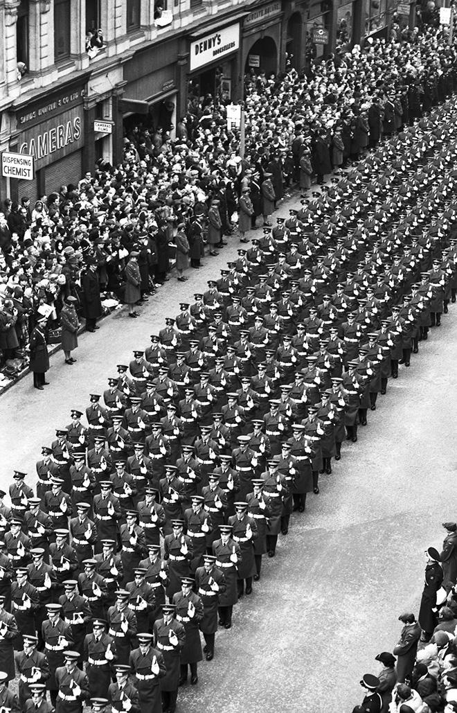 ©Giorgio Lotti - Funerali di Winston Churchill, Londra, 1965