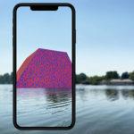 """Christo and Jeanne-Claude – """"The London Mastaba"""" rivive attraverso la realtà aumentata"""