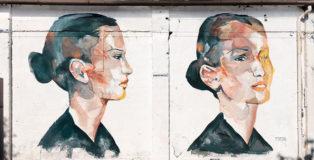 Egeon Mantra - Non mi ami più, murale, Padova, 2020