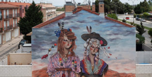 Miss Van - Mural for Avant Garde Tudela, 2020