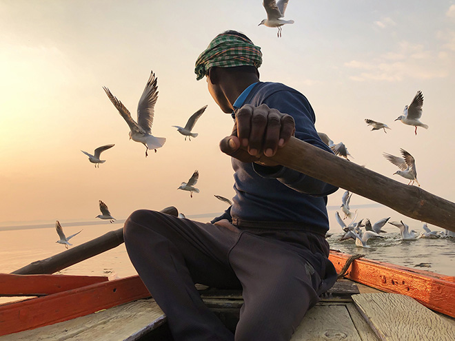 Kristian Cruz, USA - Free from the Past, Location: Varanasi, India Shot on iPhone X.  First Place - Travel. © IPPAWARDS - 2020 Winners
