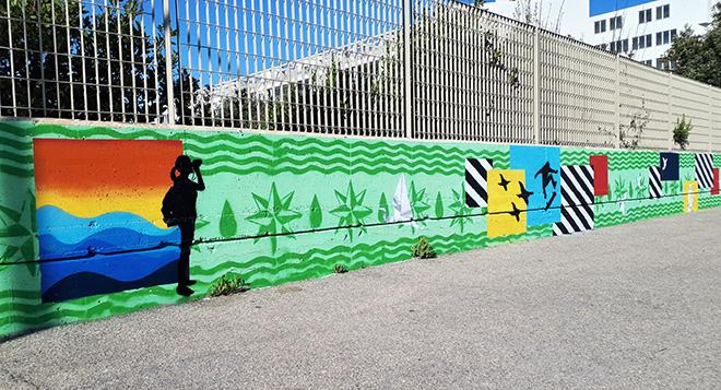 Ostia Up! - Arte urbana al Centro Habitat Oasi LIPU