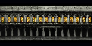 Fabrizio Plessi - L'età dell'oro, Facciata Museo Correr, Venezia