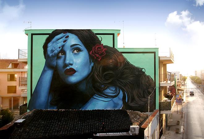 "Stramurales 2020, ""Controcorrente"" – Street art a Stornara (FG)"