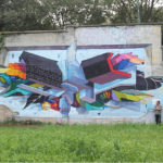 """ETNIK – """"Untitled"""", murale a Torino"""