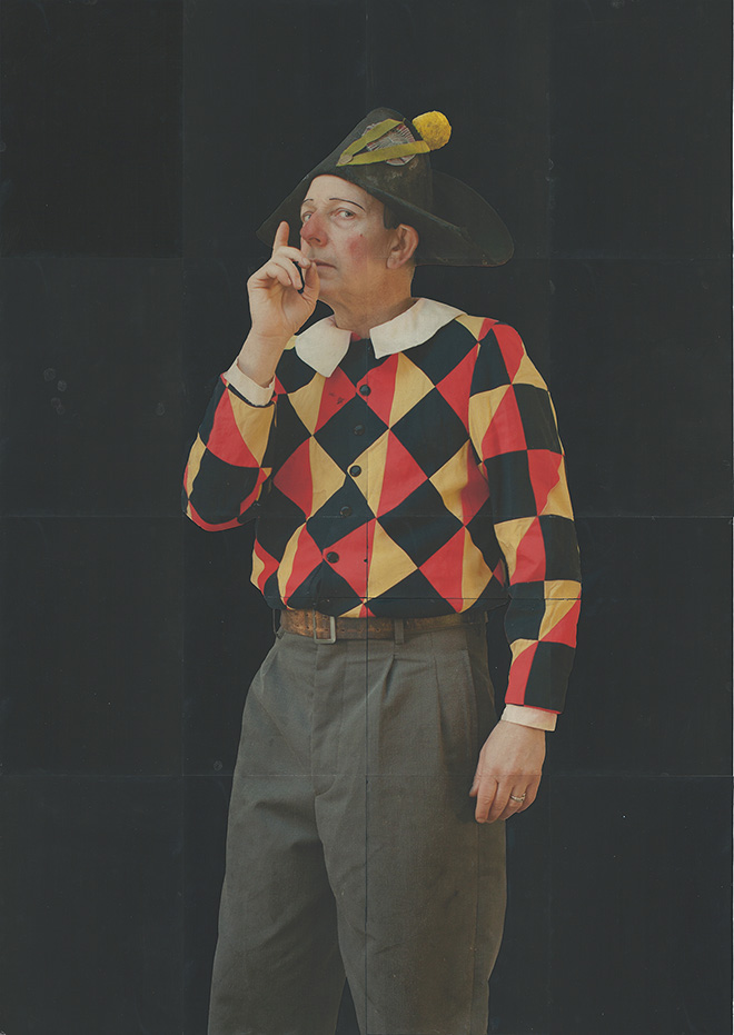 Autoritratto in costume di A., 2018 © Paolo Ventura