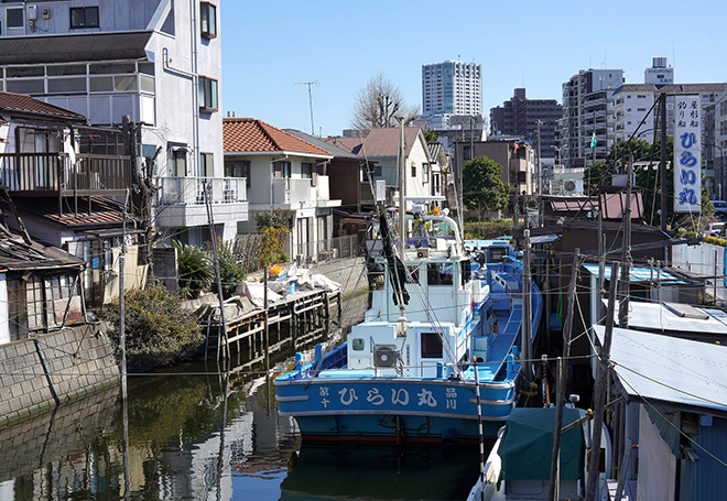Reiko Hiramatsu - La barca del pescatore, Shinagawa, Tokyo, 2020