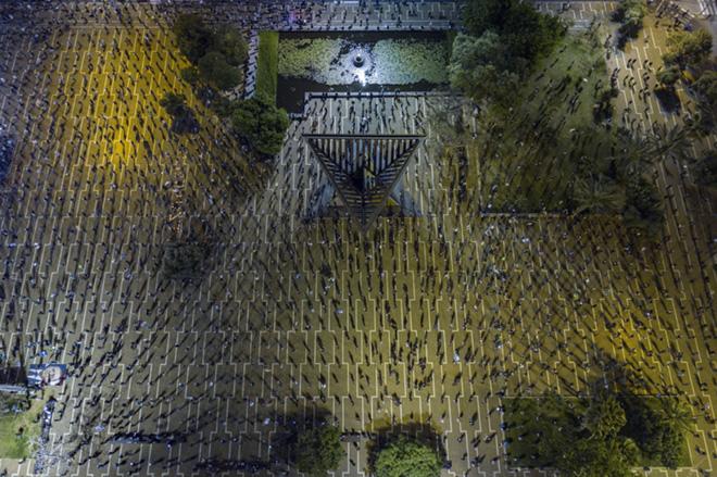Tomer Appelbaum | Black Flag, Drone Photo Awards 2020 - Primo classificato Life Under Covid-19 category