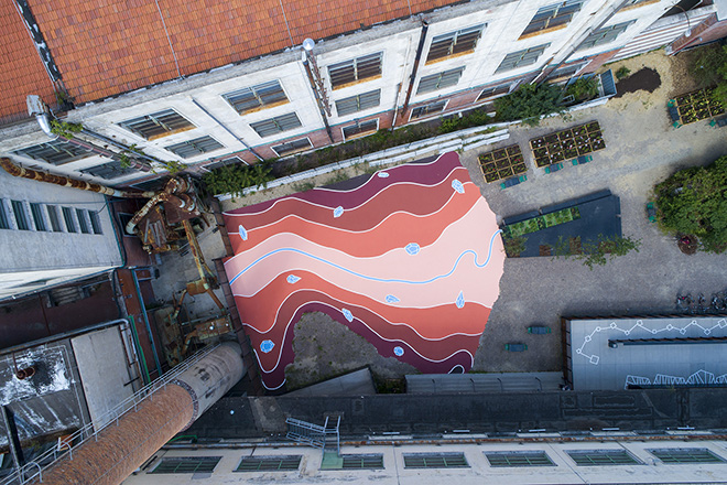 Andreco - Arno - Imaginary Topography, Manifattura Tabacchi, Firenze