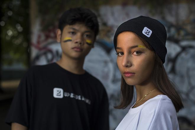 B- SWITCH - La collezione Streetwear ideata da adolescenti. photo credit: Michele Lapini