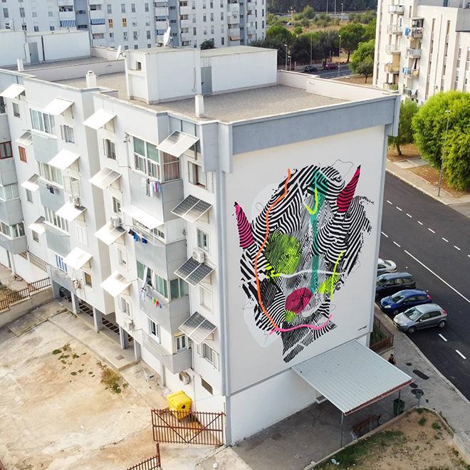 CEKOS ART - T.R.U.st, Quartiere Paolo VI, Taranto