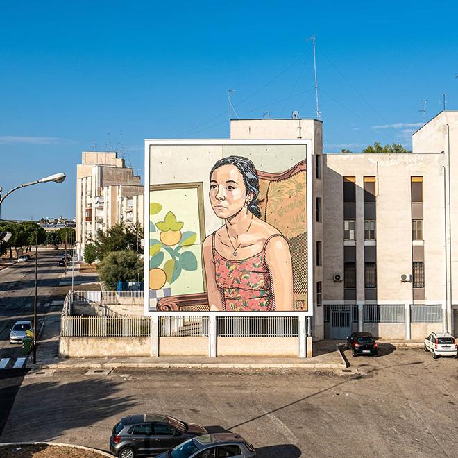 Dimitris Taxis - T.R.U.st, Quartiere Paolo VI, Taranto