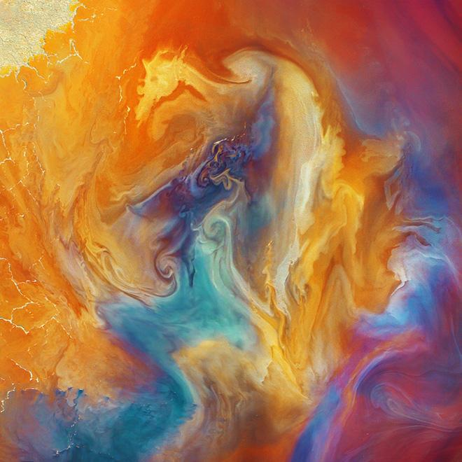 Paul Hoelen - Phoenix Rising, Drone Photo Awards 2020 - Primo classificato Abstract category