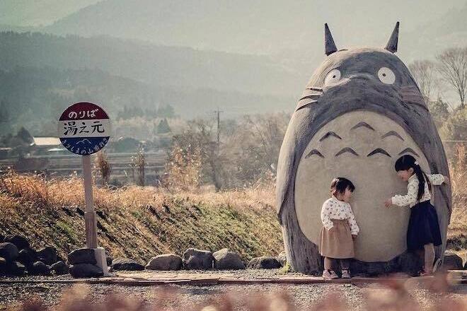 Totoro e l'idea creativa di due nonni giapponesi