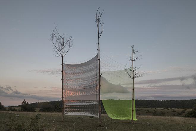 Alberonero - Monte Immagine. Installazione ambientale, Vallo di Nera (PG). photo credit: ©Roberto Conte
