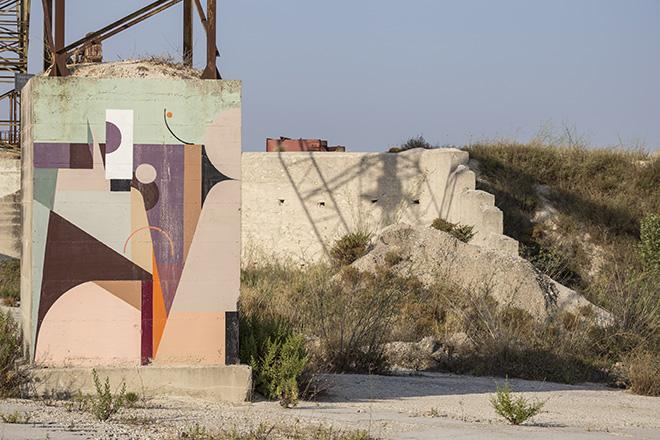 Alexey Luca - Bitume - Industrial Platform of Arts, Ragusa