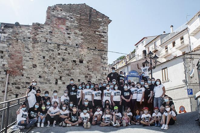 Cvtà Crew - Cvtà Street Fest 2020, Civitacampomarano. Photo credit: Giorgio Coen Cagli