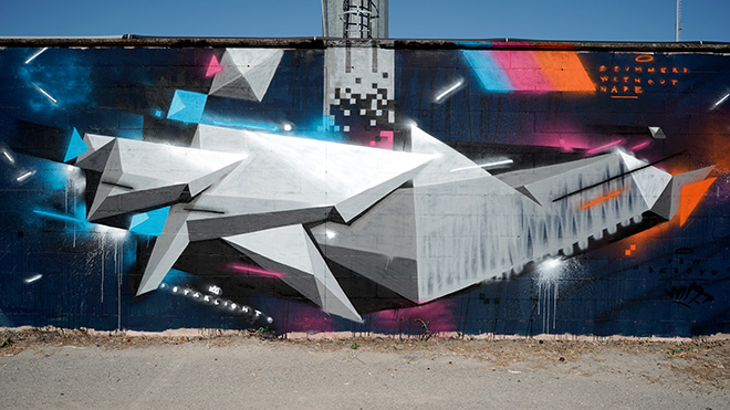Dr.w Deboyo - Murale per Manufactory Project, Comacchio, 2020