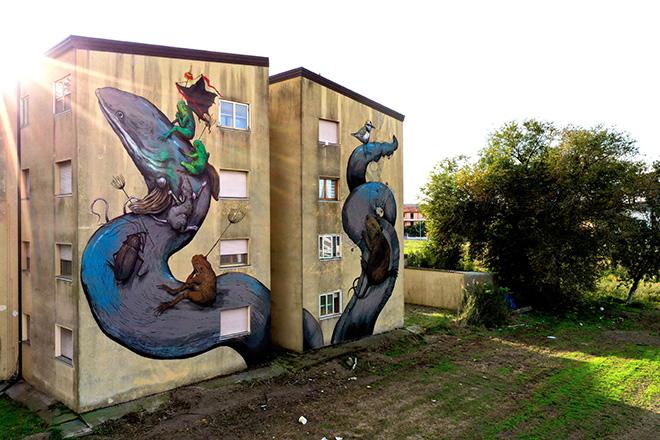 Manufactory Project 2020 – Un dialogo tra Comacchio e la street art