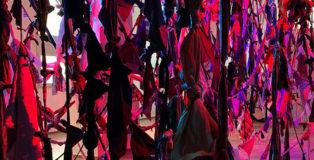 Francesca Pasquali - Labirinto, installazione site-specific per LA CITTA' IDEALE. Mirandola: galleria a cielo aperto