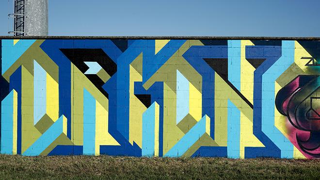 Orion - Murale per Manufactory Project, Comacchio, 2020