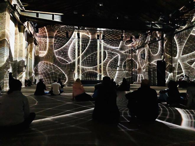 Pixel Shapes - Farnesina Digital Art Experience x Bright Festival Connect