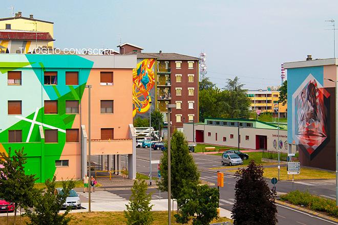 Panoramica Quartiere Lunetta, Mantova. photo credit: Giulia Giliberti