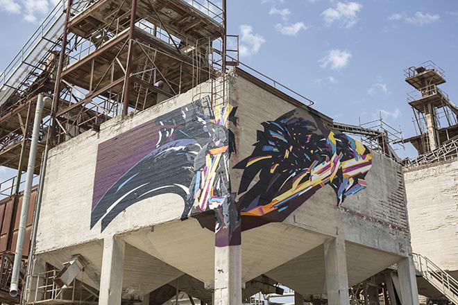 SatOne - Bitume - Industrial Platform of Arts, Ragusa