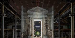 TRAC - Tresoldi Academy - Cerimonia, installazione site-specific, area dell'ex Mercatone Uno a Bologna. photo credit: ©Roberto Conte.