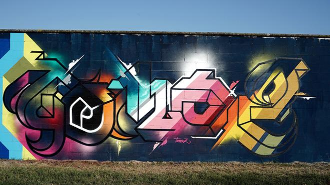 Yopoz - Murale per Manufactory Project, Comacchio, 2020