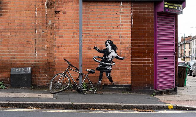 Banksy – Hula Hoop, Nottingham