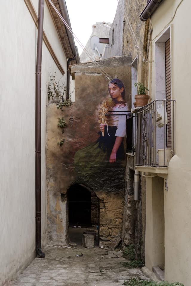 Bifido - (Caterina), AppARTEngo, murale a Stigliano (MT), Italy