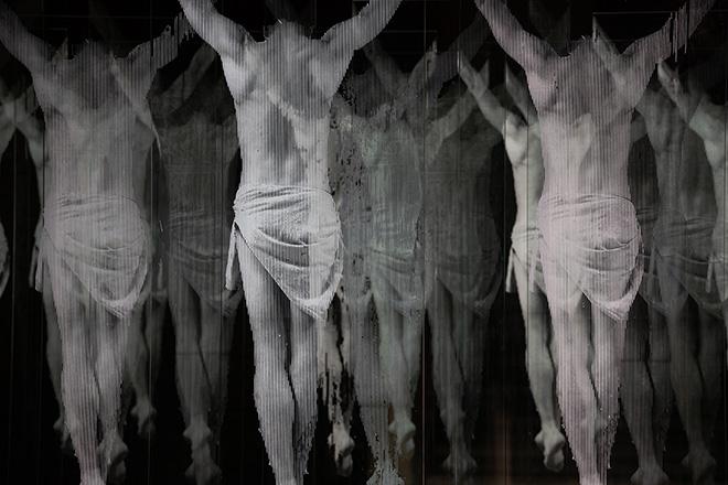 RGonzalo Borondo - N̶O̶N̶ PLUS ULTRA, installazione nel Cortile di Palacio de la Salina a Salamanca (Spagna) per il Facyl Festival. photo credit: ©Roberto Conte