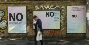 CHEAP + Il Campo Innocente - Preferirei di NO, Poster art, Via Irnerio, Bologna