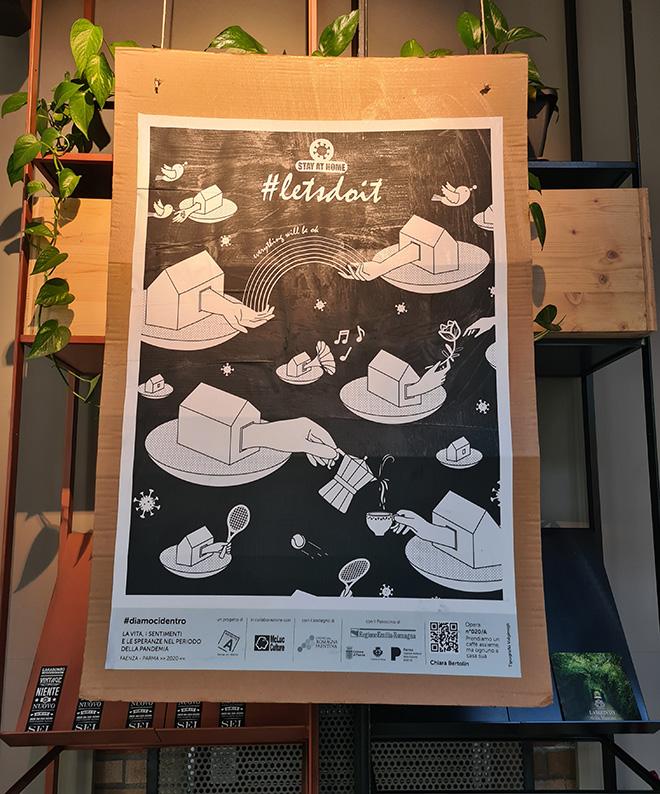 Chiara Bertolin - Poster Art per LET'S DO IT. La vita, i sentimenti e le speranze nel periodo della pandemia