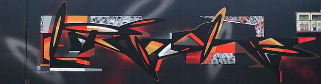 Irashi + Brome - Murale Autodromo Enzo e Dino Ferrari, Imola