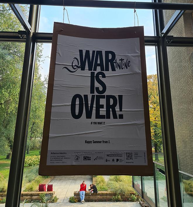 Jacques Fuà - Poster Art per LET'S DO IT. La vita, i sentimenti e le speranze nel periodo della pandemia