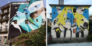 Antonino Perrotta + Riccardo Buonafede - OSA Around, Operazione street art a Vietri di Potenza