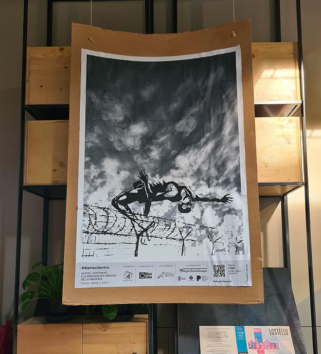 Samuele Falcone - Poster Art per LET'S DO IT. La vita, i sentimenti e le speranze nel periodo della pandemia