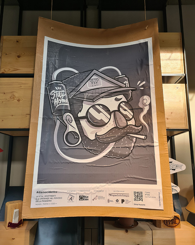 Silvia Pezzotti - Poster Art per LET'S DO IT. La vita, i sentimenti e le speranze nel periodo della pandemia