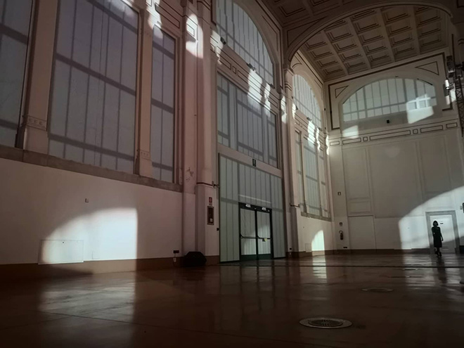 SOLE - Installation by Quiet Ensemble, Salone degli Incanti, Trieste