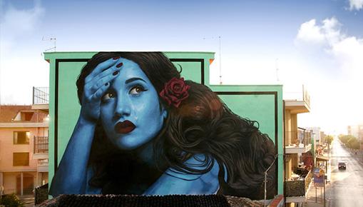 Stramurales 2020, Controcorrente - Street art a Stornara (FG)