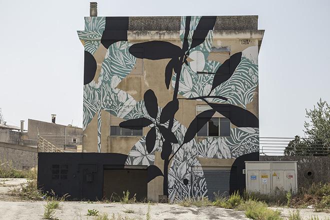 Tellas - Bitume - Industrial Platform of Arts, Ragusa