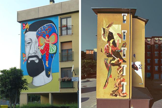 Without Frontiers, Lunetta a colori (V edizione): educare all'arte urbana