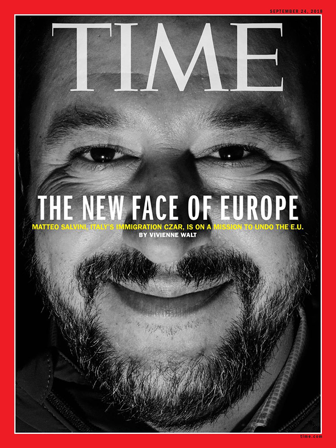 Time Cover - September 24, 2018. photo credit: Luca Santese e Marco P. Valli, Boys Boys Boys, Realpolitik