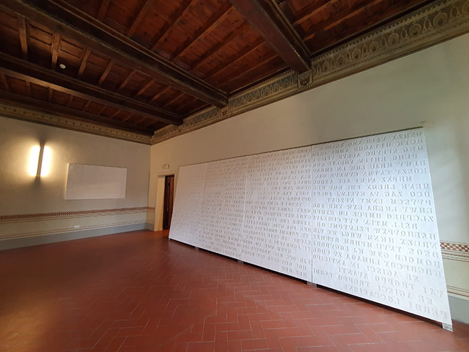 H.H. Lim - LA VIA, mostra H.H. Lim - percorso Circolare, CHINI CONTEMPORARY, Firenze