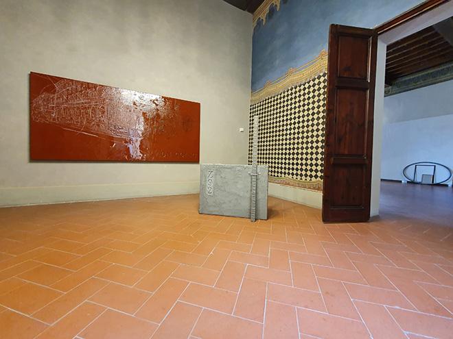 H.H. Lim - ON GOING e CODICE -Z92, mostra H.H. Lim - percorso Circolare, CHINI CONTEMPORARY, Firenze