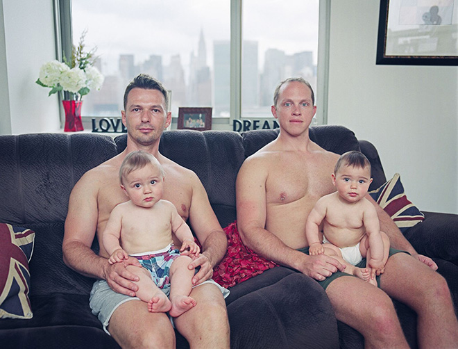 Bart Heynen (Belgium) - United Nations From The Series Gay Dads, Winner, Theme: PEOPLE, URBAN 2020 Photo Awards